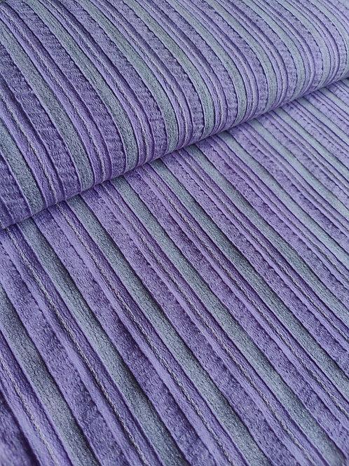Lilac/Grey Viscose Wool