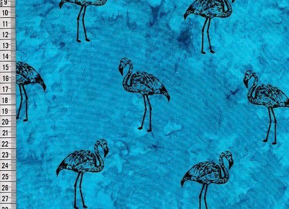 Blue Flamingo 100% Cotton