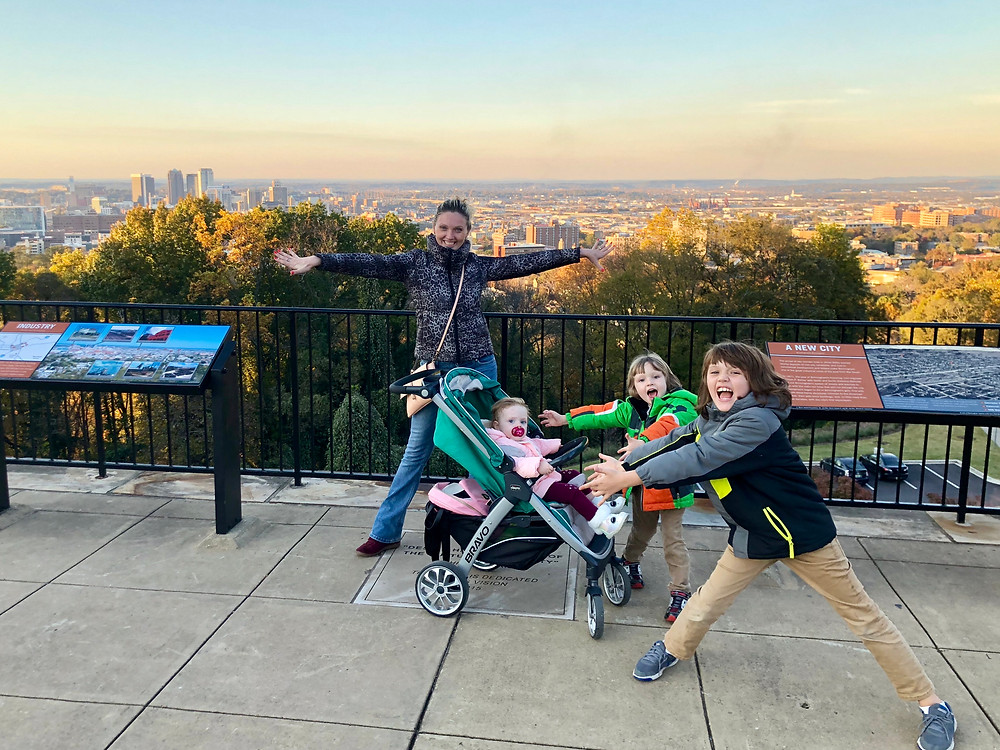 On top of the world at Vulcan Park and Museum