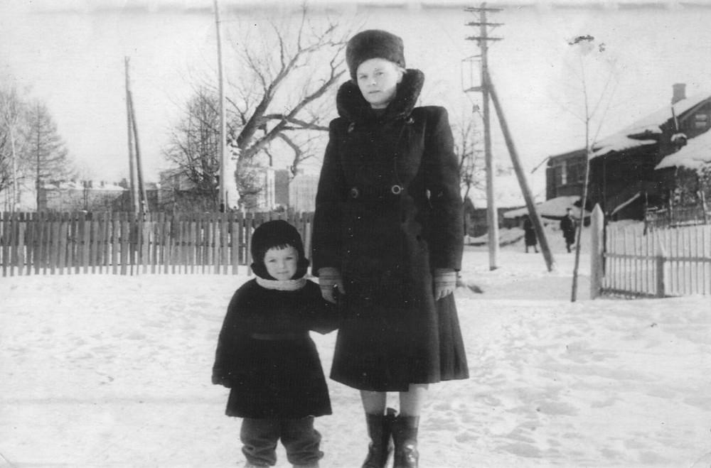 Nina and Lyonya, 1955