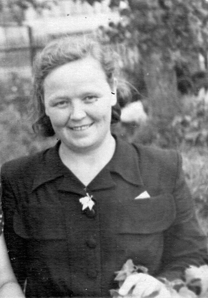 Aunt Manya, 1944