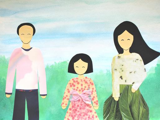 5 hauskaa ideaa perhepotretin askarteluun