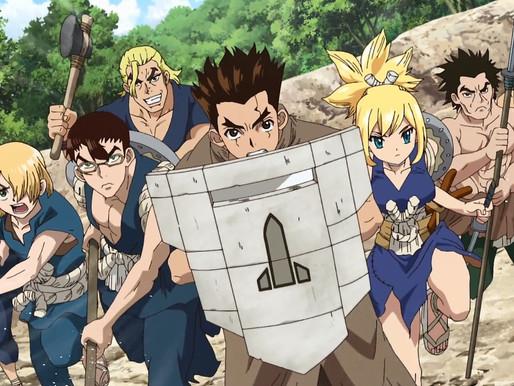 Dr. Stone: Stone Wars! Episode 8: TAIJU THE SHIELD HERO?!