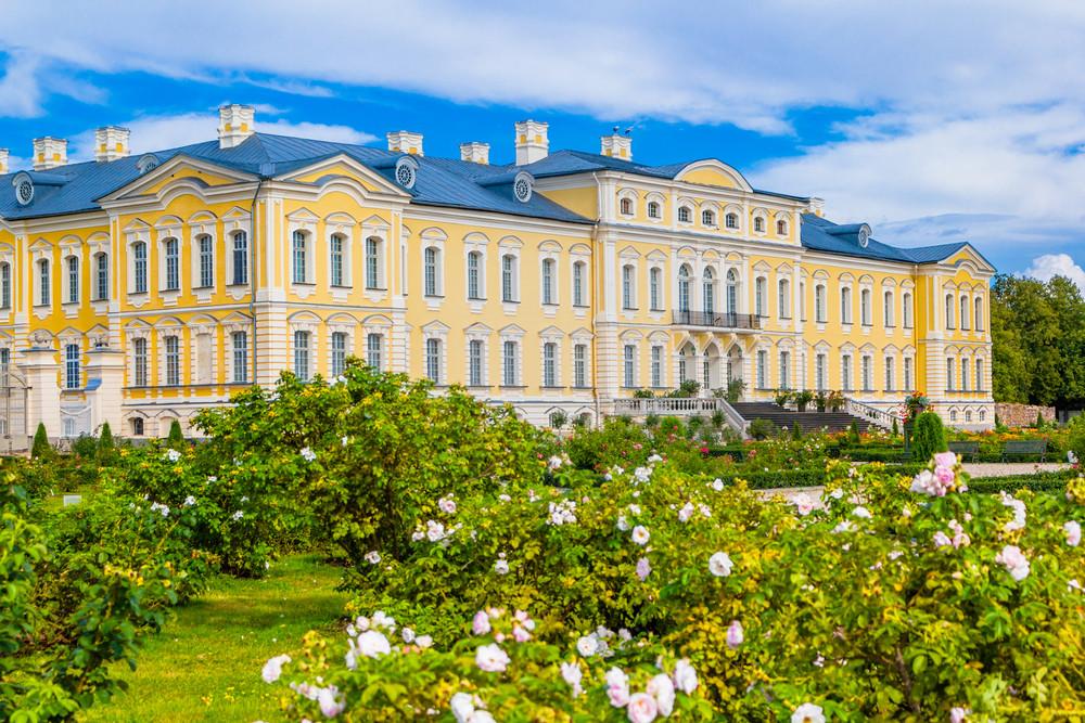 拉脫維亞 隆黛爾皇宮