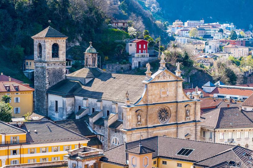 Old church in Bellinzona, Switzerland.jp