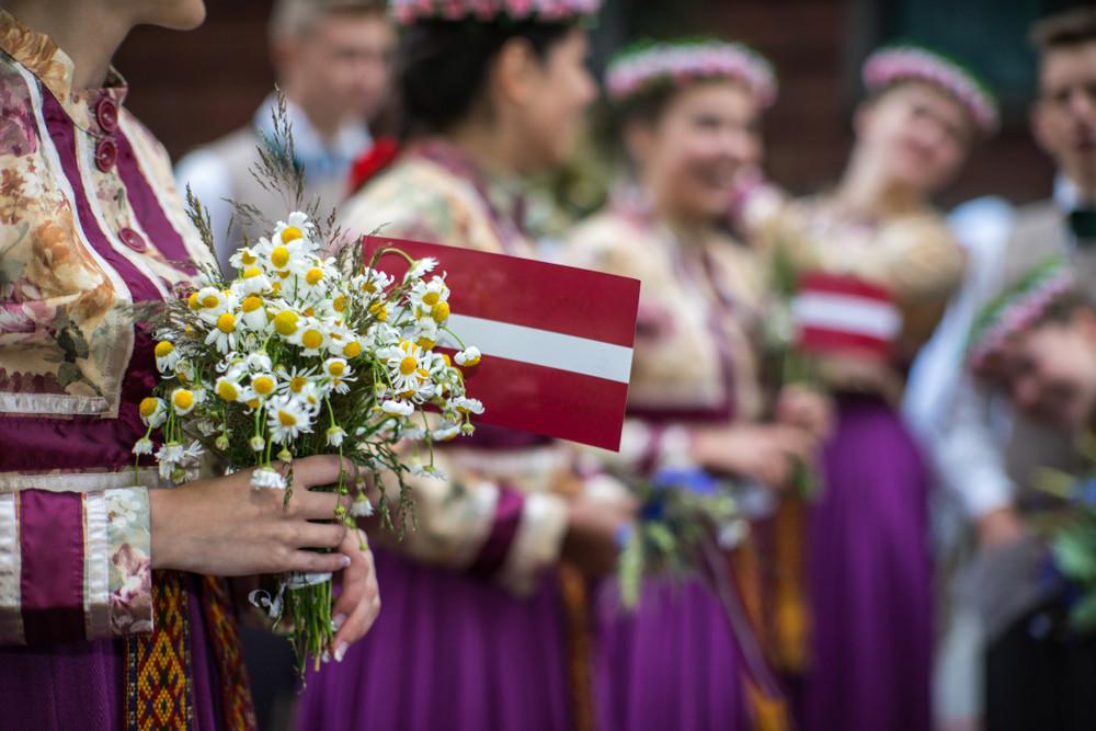 拉脫維亞 傳統服飾