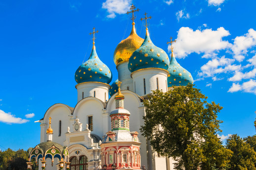 The Holy Trinity St. Sergius Lavra in Se