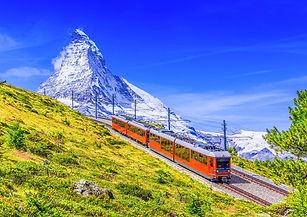 Zermatt, Switzerland. Gornergrat tourist