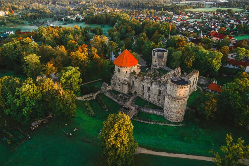 拉脫維亞 采西斯 城堡