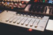 Mezclador de sonido profesional