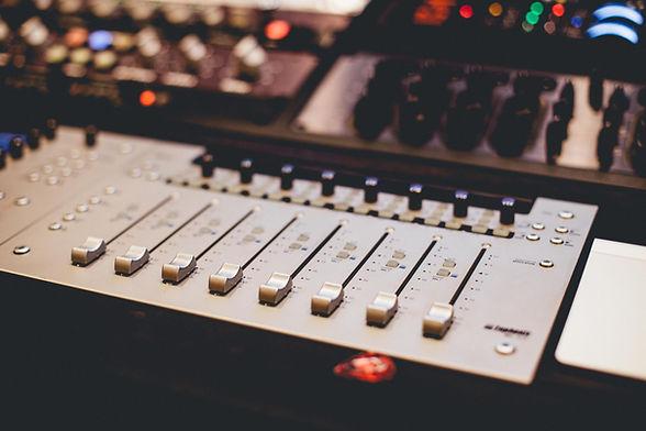 Professionelle Sound-Mixer