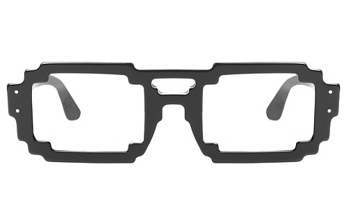 6DPI BLACK OPTICAL FRAME