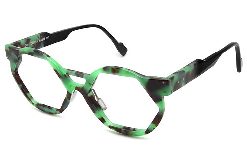 OO6 ECAILLE GREEN OPTICAL FRAME