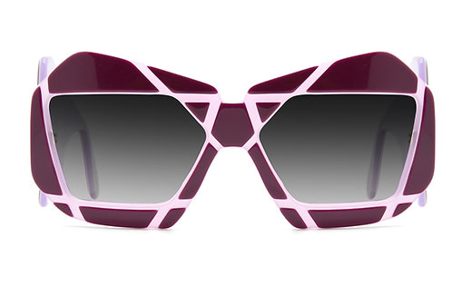 Christophe Purple Sunglasses