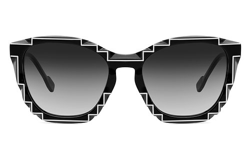 CHARLES 2 BLACK SUNGLASSES