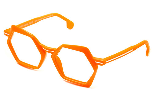 OO9 ORANGE OPTICAL FRAME