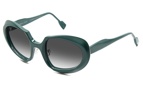 HECTOR GREEN SUNGLASSES