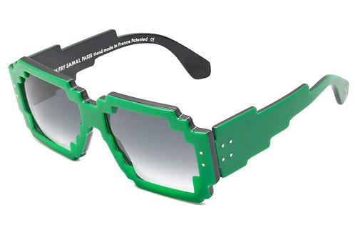 7DPI GREEN SUNGLASSES