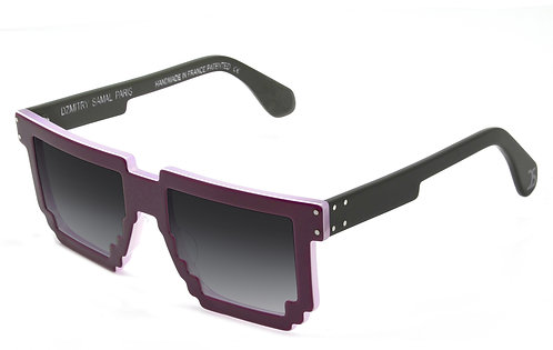 5DPI RASPBERRY SUNGLASSES