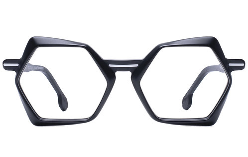 OO9 BLACK MAT OPTICAL FRAME