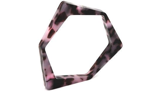 BRACELET O7 Ecaille Pink