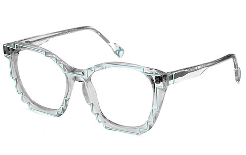 CHARLES 2 CRYSTAL / BLUE OPTICAL FRAME
