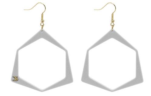 O7 WHITE EARRINGS