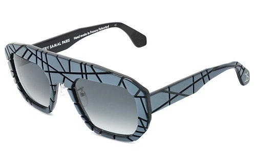 CITY METALLIC GREY SUNGLASSES