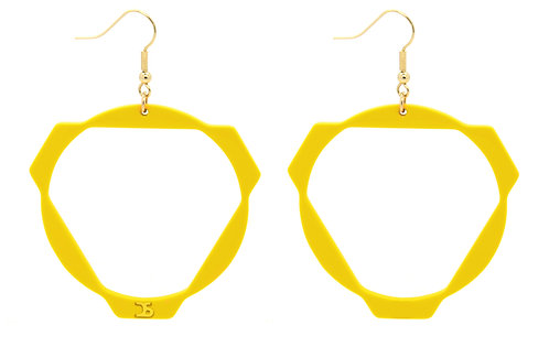 O8 YELLOW EARRINGS