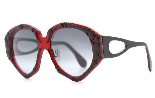 ORPHEE RED SUNGLASSES