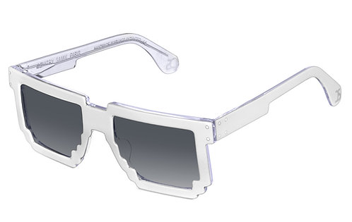 5DPI WHITE SUNGLASSES