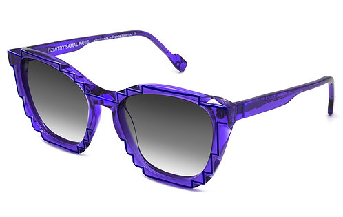 CHARLES 2 INDIGO / BLUE SUNGLASSES