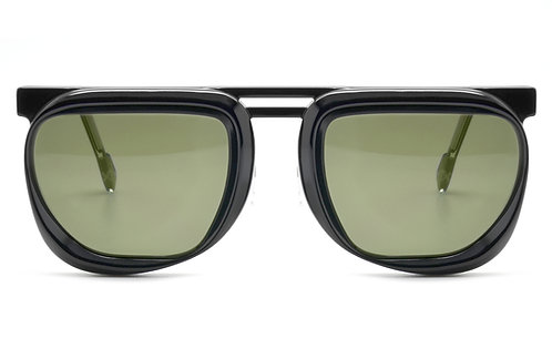XAVIER BLACK SUNGLASSES