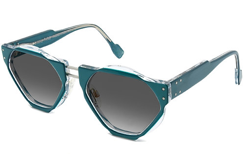 O8 BLUE SUNGLASSES