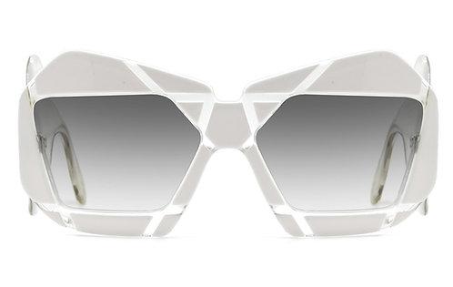 Christophe White Sunglasses