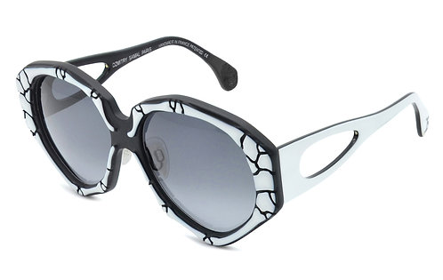 ORPHEE BLACK AND WHITE SUNGLASSES