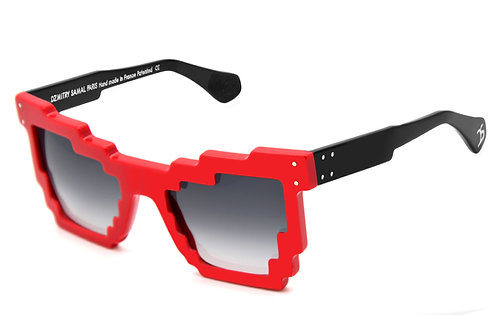 3DPI RED SUNGLASSES