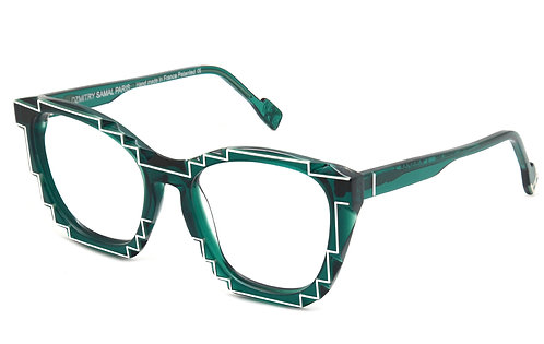CHARLES 2 GREEN OPTICAL FRAME