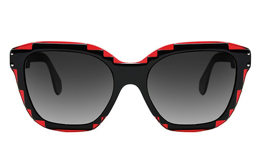 CHARLES RED SUNGLASSES