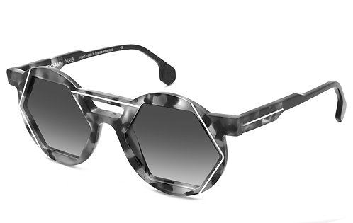 A6 ECAILLE GREY SUNGLASSES