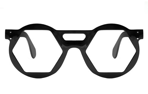 O6s BLACK OPTICAL FRAME