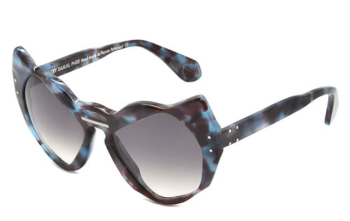 INTERSECTION 3 ECAILLE NAVY SUNGLASSES