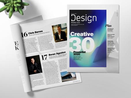 'Creative 30' Powerlist 2020