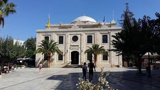 Agios Titos Cathedral Heraklion, Crete Greece.