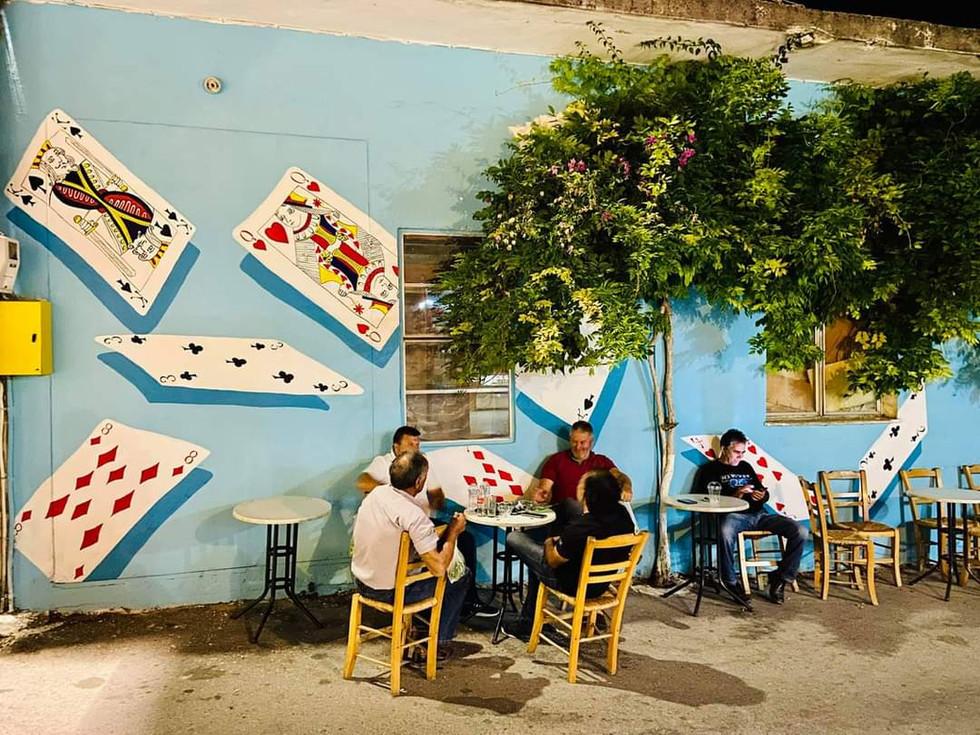Kafeneio, Ano Asites, Crete, Greece