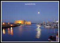 Venetian Harbour, Heraklion, Crete, Greece