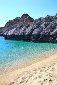 The Clear Blue Waters of Crete