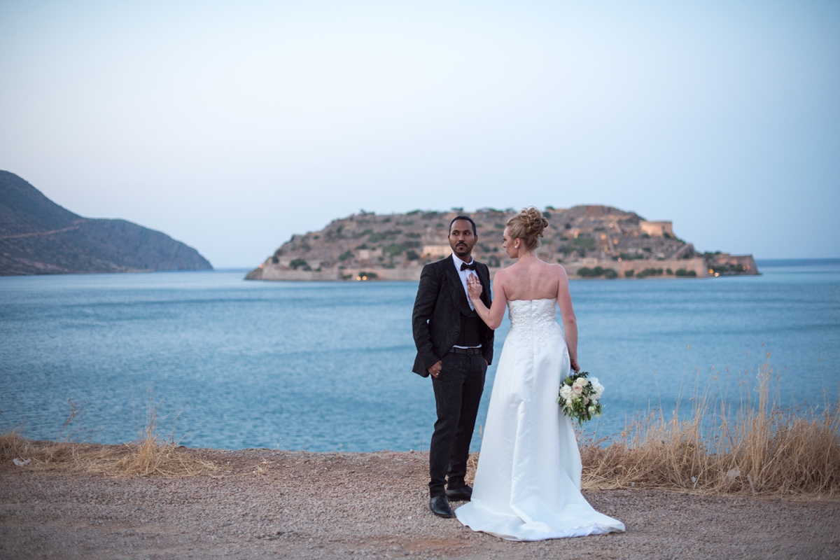 Married couple with a view.