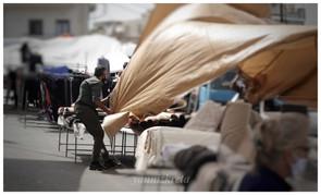 The bazaar of Heraklion, Crete, Greece