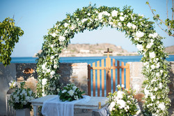 Wonderful views for your wedding in Crete, Greece.